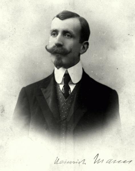 Heinrich Mann (*27.März 1871, †11.März 1950), Quelle: o.Ang., Lizenz: CC BY-SA 3.0 de