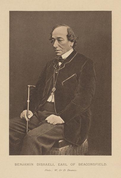 Benjamin Disraeli (*21.Dezember 1804, †19.April 1881), Lizenz: Public domain