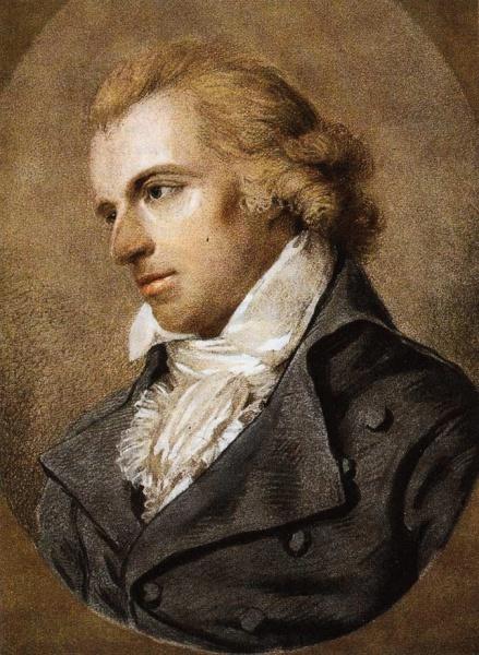 Friedrich Schiller (*10.November 1759, †09.Mai 1805), Quelle: Ludovike Simanowiz, Lizenz: Public domain