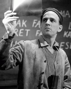 Ingmar Bergman (*14.Juli 1918, †30.Juli 2007), Quelle: Der ursprünglich hochladende Benutzer war Camptown in der Wikipedia auf Englisch, Lizenz: Public domain