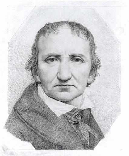 Johann Gottfried Schadow (*20.Mai 1764, †27.Januar 1850), Lizenz: Public domain