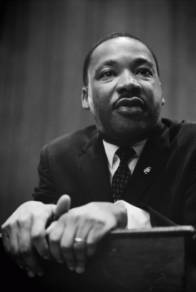 Martin Luther King (*15. Januar 1929, †04. April 1968), Quelle: Marion S. Trikosko, Lizenz: Public domain