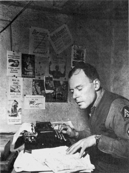 Klaus Mann (*18. November 1906, †21. Mai 1949), Quelle: United States 5th Army, Lizenz: Public domain