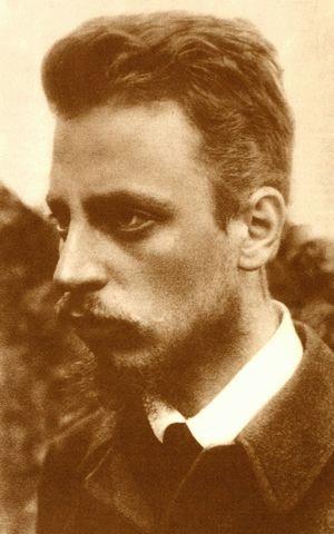 Rainer Maria Rilke (*04.Dezember 1875, †29.Dezember 1926), Quelle: Unbekannt, Lizenz: Public domain