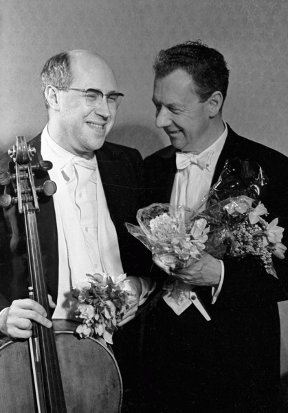 Benjamin Britten (*22.November 1913, †04.Dezember 1976), Quelle: Mikhail Ozerskiy / Михаил Озерский, Lizenz: CC BY-SA 3.0