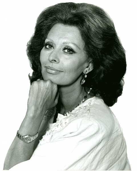 Sophia Loren (*20.September 1934), Quelle: Allan warren, Lizenz: CC BY-SA 3.0
