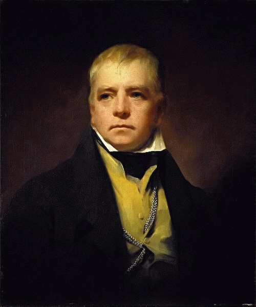 Walter Scott (*15. August 1771, †21. September 1832), Quelle: Henry Raeburn, Lizenz: Public domain