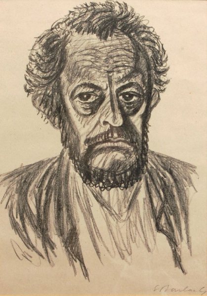 Ernst Barlach (*02.Januar 1870, †24.Oktober 1938), Quelle: Ernst Barlach, Lizenz: Public domain