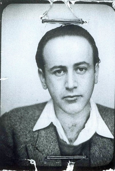 Paul Celan (*23. November 1920, †20. April 1970), Quelle: Unbekannt, Lizenz: Public domain