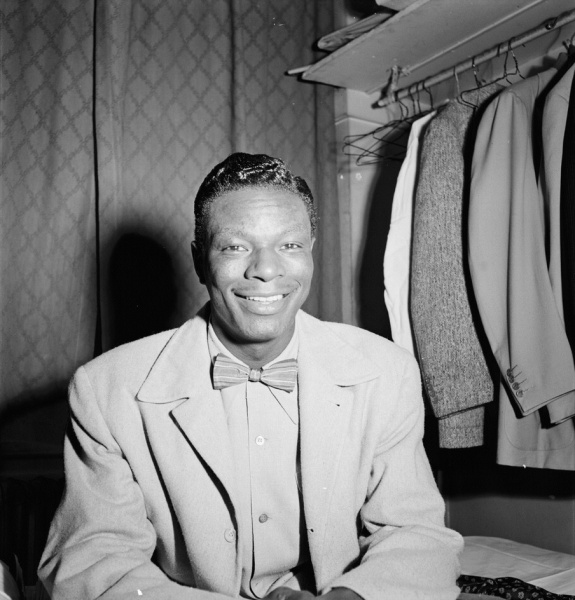 Nat King Cole (*17. März 1919, †15. Februar 1965), Quelle: William P. Gottlieb, Lizenz: Public domain