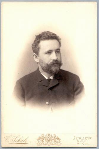 Emil Kraepelin (*15.Februar 1856, †07.Oktober 1926), Quelle: Schulz, Carl (1831-1884), Lizenz: Public domain