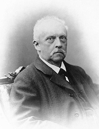 Hermann von Helmholtz (*31.August 1821, †08.September 1894), Lizenz: Public domain