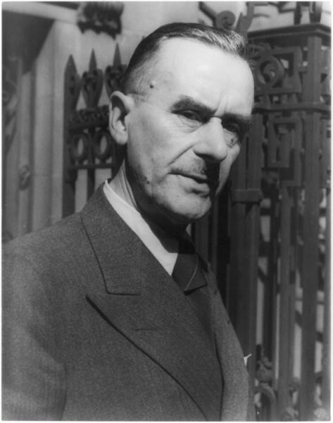 Thomas Mann (*06.Juni 1875, †12.August 1955), Quelle: Carl Van Vechten, Lizenz: Public domain