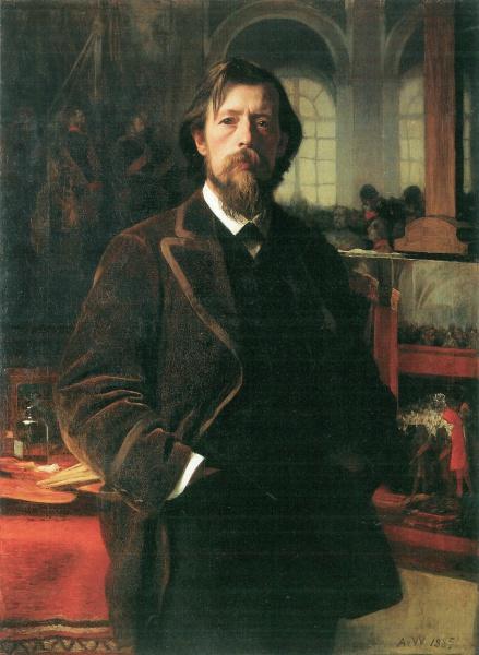 Anton von Werner (*09.Mai 1843, †04.Januar 1915), Quelle: Anton von Werner, Lizenz: Public domain