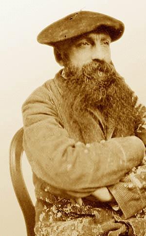 Auguste Rodin (*12.November 1840, †17.November 1917), Quelle: Unbekannt, Lizenz: Public domain