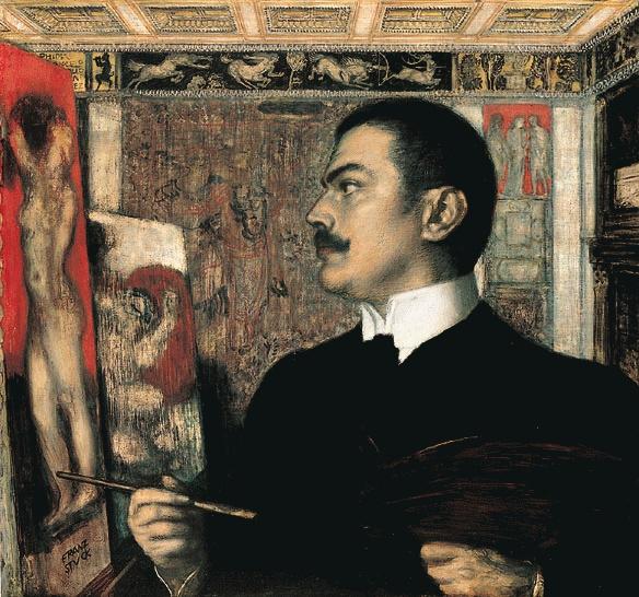 Franz von Stuck (*23.Februar 1863, †30.August 1928), Quelle: Franz von Stuck, Lizenz: Public domain