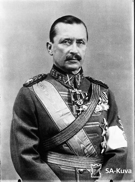 Carl Gustaf Emil Mannerheim (*04.Juni 1867, †27.Januar 1951), Quelle: sa-kuva, Lizenz: Public domain