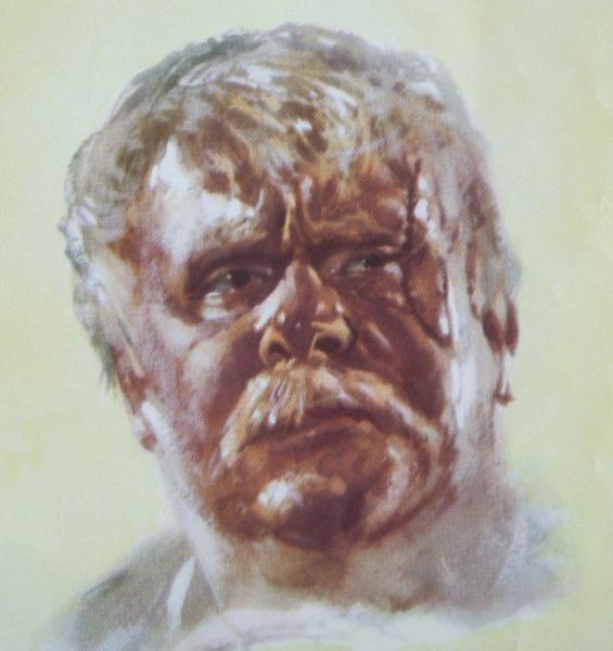 Gert Fröbe (*25.Februar 1913, †05.September 1988), Quelle: Helmuth Ellgaard, Lizenz: CC BY-SA 3.0 de