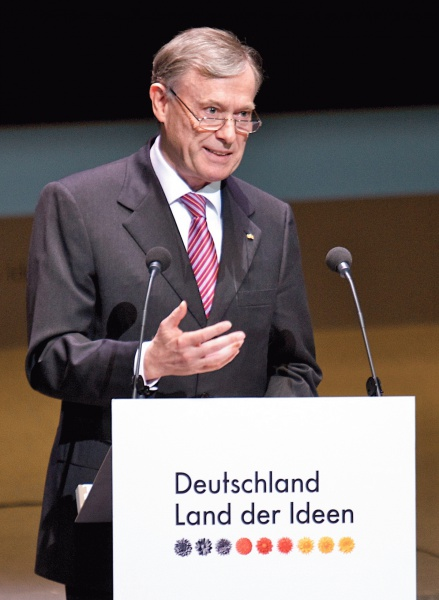 Horst Köhler (*22.Februar 1943), Quelle: Deutschland - Land der Ideen, Lizenz: CC BY-SA 3.0