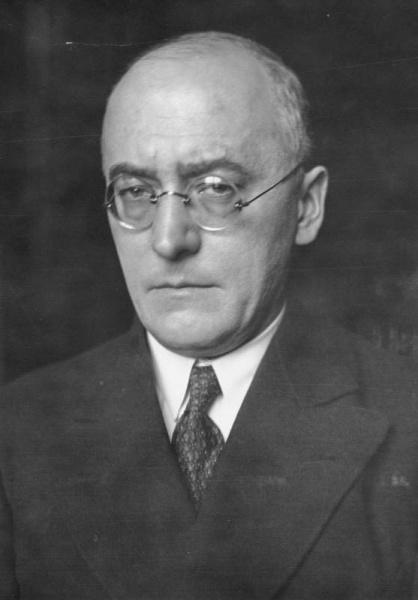 Heinrich Brüning (*26.November 1885, †30.März 1970), Quelle: Unbekannt, Lizenz: CC BY-SA 3.0 de