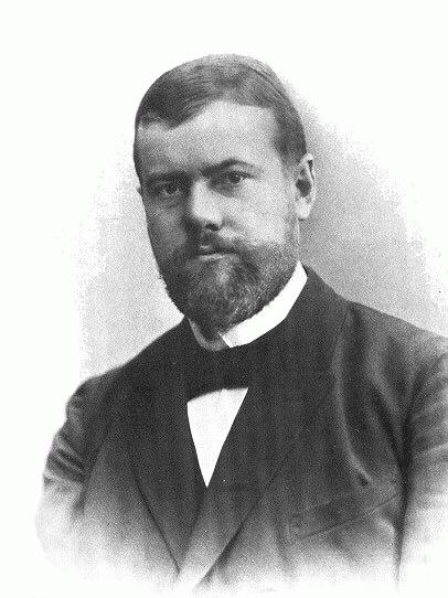 Max Weber (*21.April 1864, †14.Juni 1920), Lizenz: Public domain