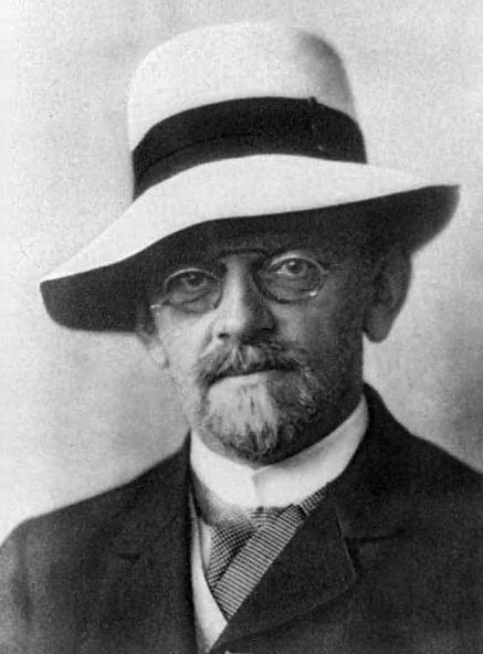 David Hilbert (*23.Januar 1862, †14.Februar 1943), Quelle: Unbekannt, Lizenz: Public domain