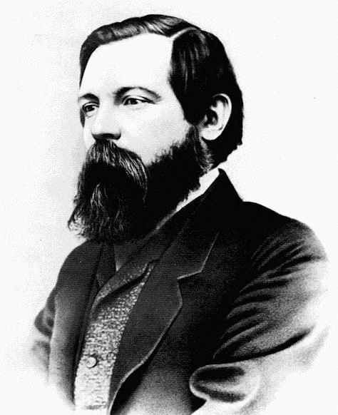 Friedrich Engels (*28. November 1820, †05. August 1895), Quelle: George Lester, Manchester photographer, Lizenz: Public domain