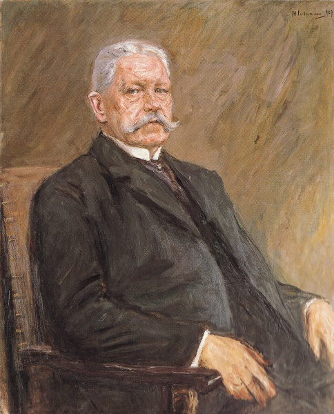 Paul von Hindenburg (*02. Oktober 1847, †02. August 1934), Quelle: Max Liebermann, Lizenz: Public domain