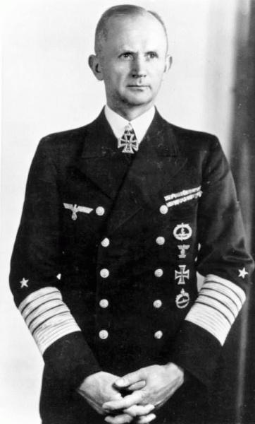 Karl Dönitz (*16.September 1891, †24.Dezember 1980), Quelle: Unbekannt, Lizenz: CC BY-SA 3.0 de
