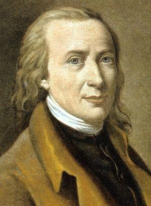 Matthias Claudius (*15.August 1740, †21.Januar 1815), Quelle: after a painting by Friederike Leisching, Lizenz: Public domain