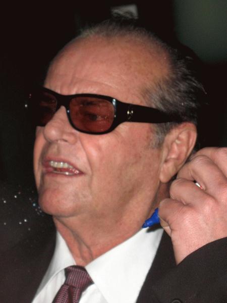 Jack Nicholson (*22.April 1937), Quelle: Franz Richter (User:FRZ), Lizenz: CC BY-SA 2.5-2.0-1.0