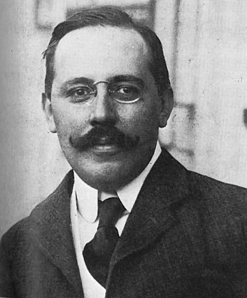 Josef Hoffmann  (*15.Dezember 1870, †07.Mai 1956), Quelle: Unbekannt, Lizenz: Public domain