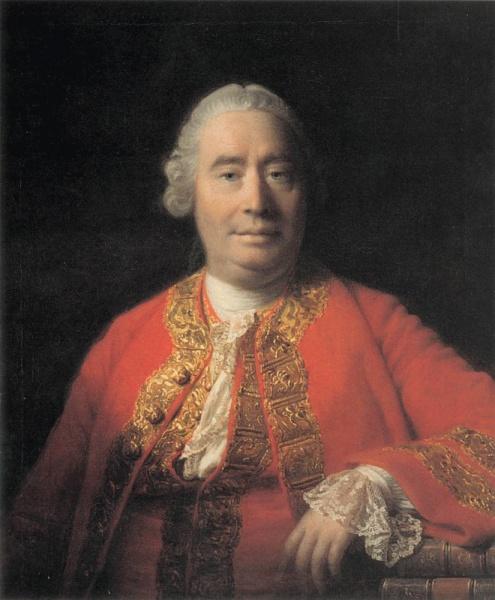 David Hume (*07.Mai 1711, †25.August 1776), Quelle: Unbekannt, Lizenz: Public domain