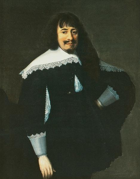 Martin Opitz (*23.Dezember 1597, †20.August 1639), Quelle: Bartholomäus Strobel der Jüngere, Lizenz: Public domain