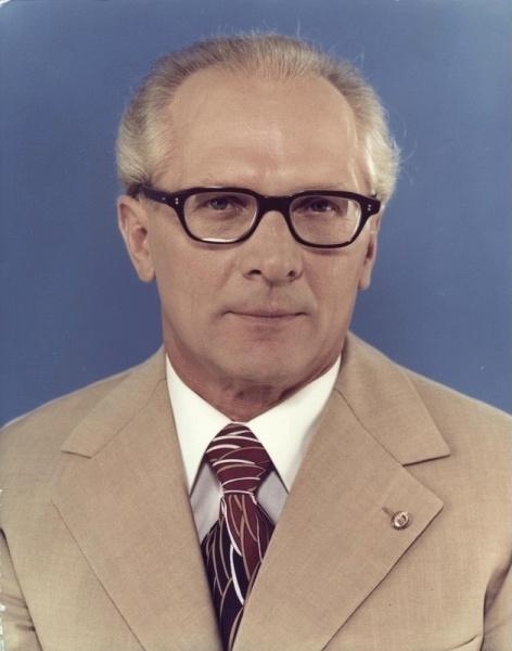 Erich Honecker (*25.August 1912, †29.Mai 1994), Quelle: Unbekannt, Lizenz: CC BY-SA 3.0 de