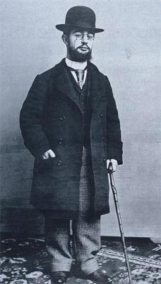Henri de Toulouse-Lautrec (*24.November 1864, †09.September 1901), Quelle: Paul Sescau40002, Lizenz: Public domain