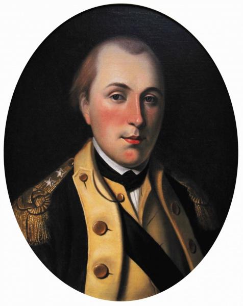 Marie-Joseph Motier, Marquis de La Fayette (*06.September 1757, †20.Mai 1834), Quelle: Charles Willson Peale (d. 1827), Lizenz: Public domain