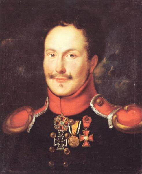 Friedrich de la Motte Fouqué (*12.Februar 1777, †23.Januar 1843), Quelle: Unbekannt, Lizenz: Public domain