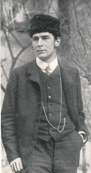 Franz Marc (*08.Februar 1880, †04.März 1916), Quelle: Unbekannt, Lizenz: Public domain
