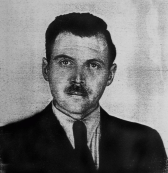 Josef Mengele (*16. März 1911, †07. Februar 1979), Quelle: Anonymous photographer, not identified anywhere, Lizenz: Public domain
