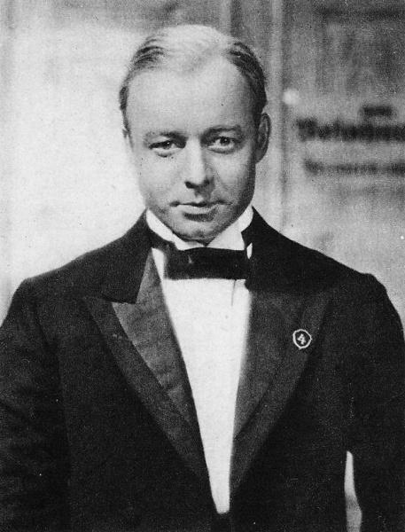 Heinz Rühmann (*07.März 1902, †03.Oktober 1994), Quelle: Fröhlich-Film/Tobis (original) / Sendker (scan), Lizenz: Public domain
