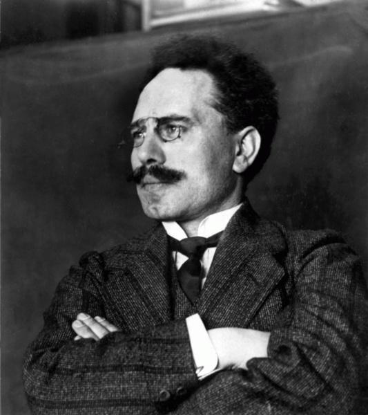 Karl Liebknecht (*13.August 1871, †15.Januar 1919), Quelle: Copyright G. G. Bain, Lizenz: Public domain