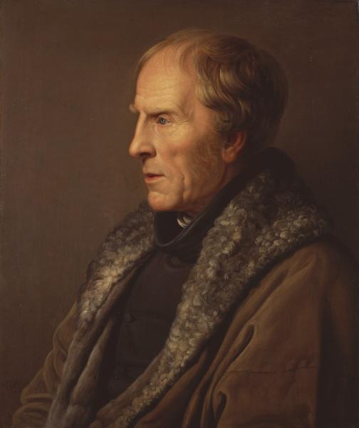 Caspar David Friedrich (*05.September 1774, †07.Mai 1840), Quelle: Johann Karl Ulrich Bähr, Lizenz: Public domain