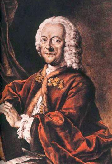 Georg Philipp Telemann (*24.März 1681, †25.Juni 1767), Quelle: Valentin Daniel Preisler, Lizenz: Public domain