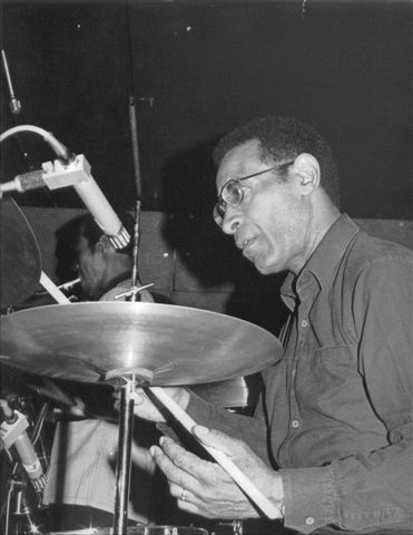 Max Roach (*10. Januar 1924, †16. August 2007), Quelle: Albert Kok in der Wikipedia auf Niederländisch (Originaltext: albert kok), Lizenz: Public domain