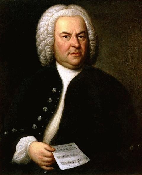 Johann Sebastian Bach (*31.März 1685, †28.Juli 1750), Quelle: Elias Gottlob Haußmann, Lizenz: Public domain