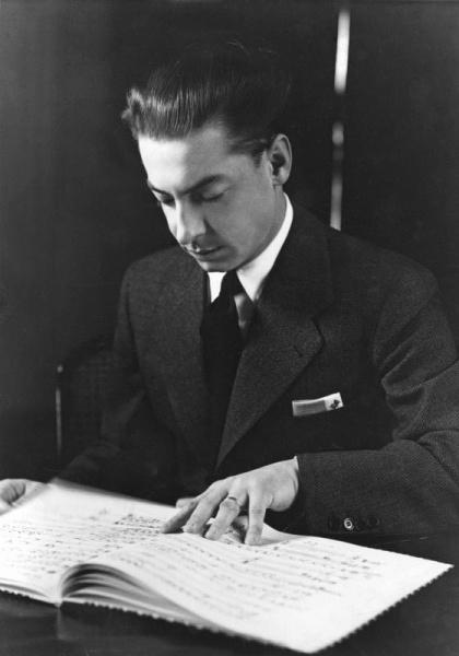 Herbert von Karajan (*05.April 1908, †16.Juli 1989), Quelle: Posse, Edith, Lizenz: CC BY-SA 3.0 de