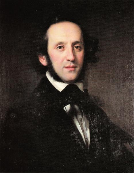 Felix Mendelssohn Bartholdy (*03.Februar 1809, †04.November 1847), Quelle: Eduard Magnus, Lizenz: Public domain