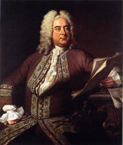 Georg Friedrich Händel (*05. März 1685, †14. April 1759), Quelle: Thomas Hudson, Lizenz: Public domain