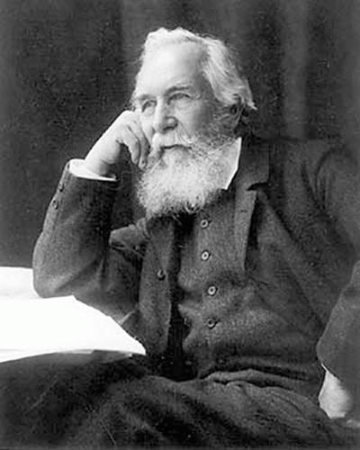 Ernst Haeckel (*16.Februar 1834, †09.August 1919), Lizenz: Public domain